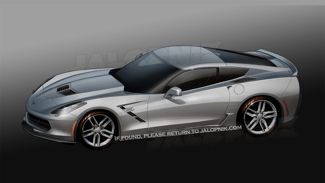 Jalopnik.com Sketches the new 2014 Chevrolet Corvette