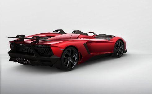 Lamborghini Aventador J - Rear 3/4