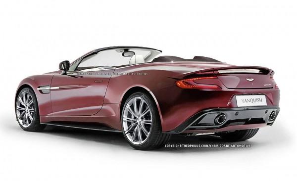 2014 Aston Martin Vanquish Volante Rear34
