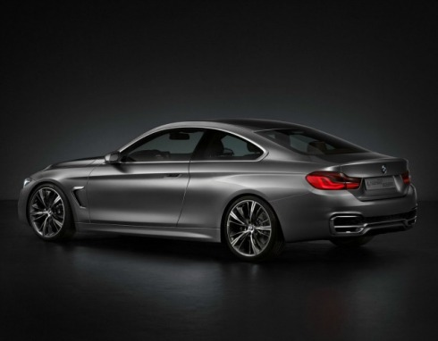 2014 BMW 4-Series Coupe - Rear 3/4