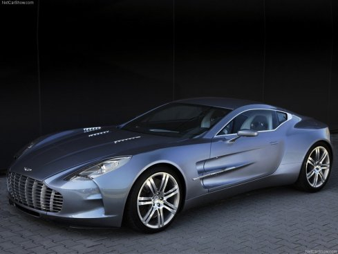 2010 Aston Martin One-77 - Front 3/4
