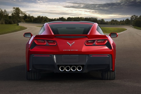 2014 Chevrolet C7 Corvette - Rear