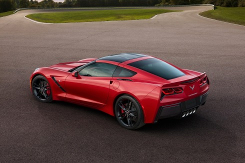 2014 Chevrolet C7 Corvette - Rear 3/4