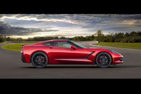 2014 Chevrolet C7 Corvette - Side Profile