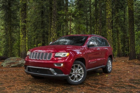 2014 Jeep Grand Cherokee - Front 3/4