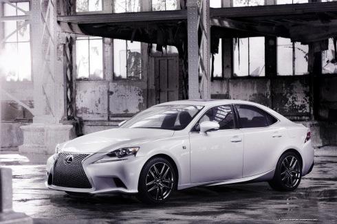 2014 Lexus IS F-Sport - Front 3/4