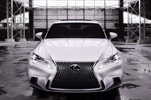 2014 Lexus IS F-Sport - Head On