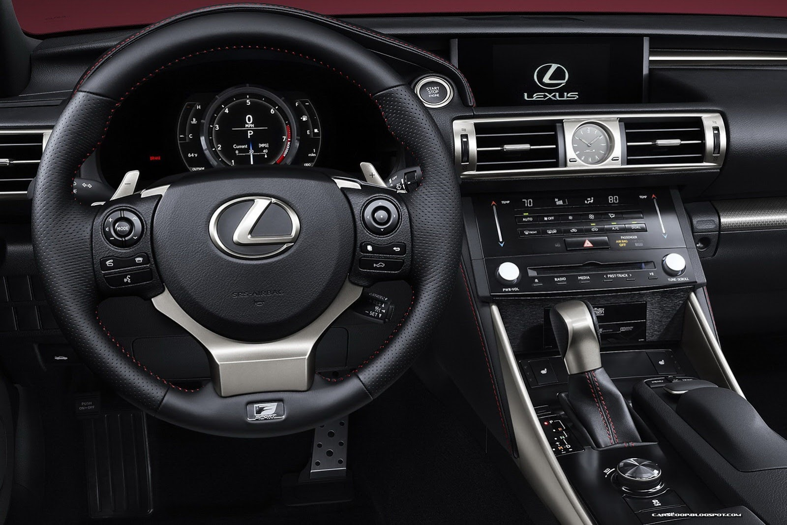 2014 Lexus IS F-Sport – Interior