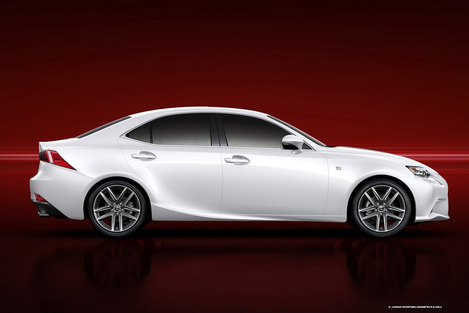 Interested seeing the new leaner meaner looking 2014 Lexus IS?