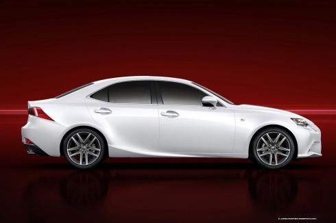 2014 Lexus IS F-Sport - Side Profile