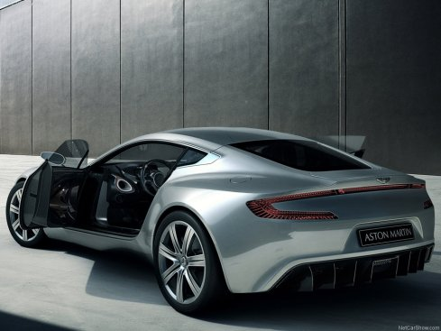 2010 Aston Martin One-77 - Rear 3/4