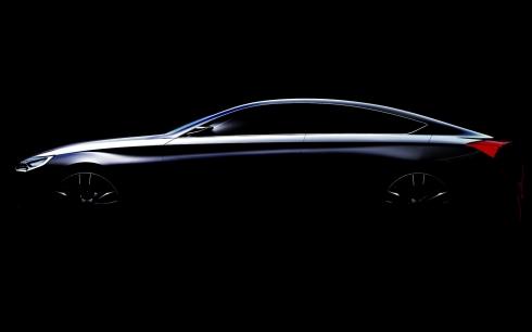 Hyundai HCD-14 Concept Car Teaser Side Profile