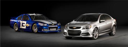 2014 Chevrolet SS with it's Race Car Big Brother
