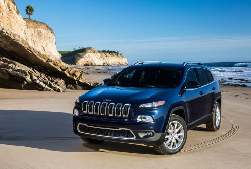 2014 Jeep Cherokee Limited - Front 3/4