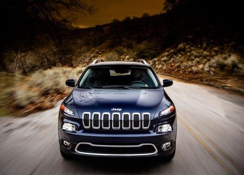 2014 Jeep Cherokee Limited - Head On
