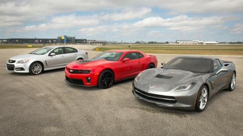 2014 RWD Chevrolet Performance Car Lineup