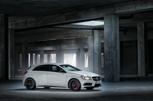 The all new Mercedes A45 AMG