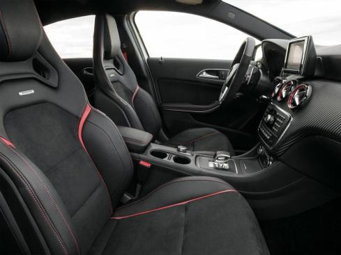 Mercedes A45 AMG - The  Captains Chair