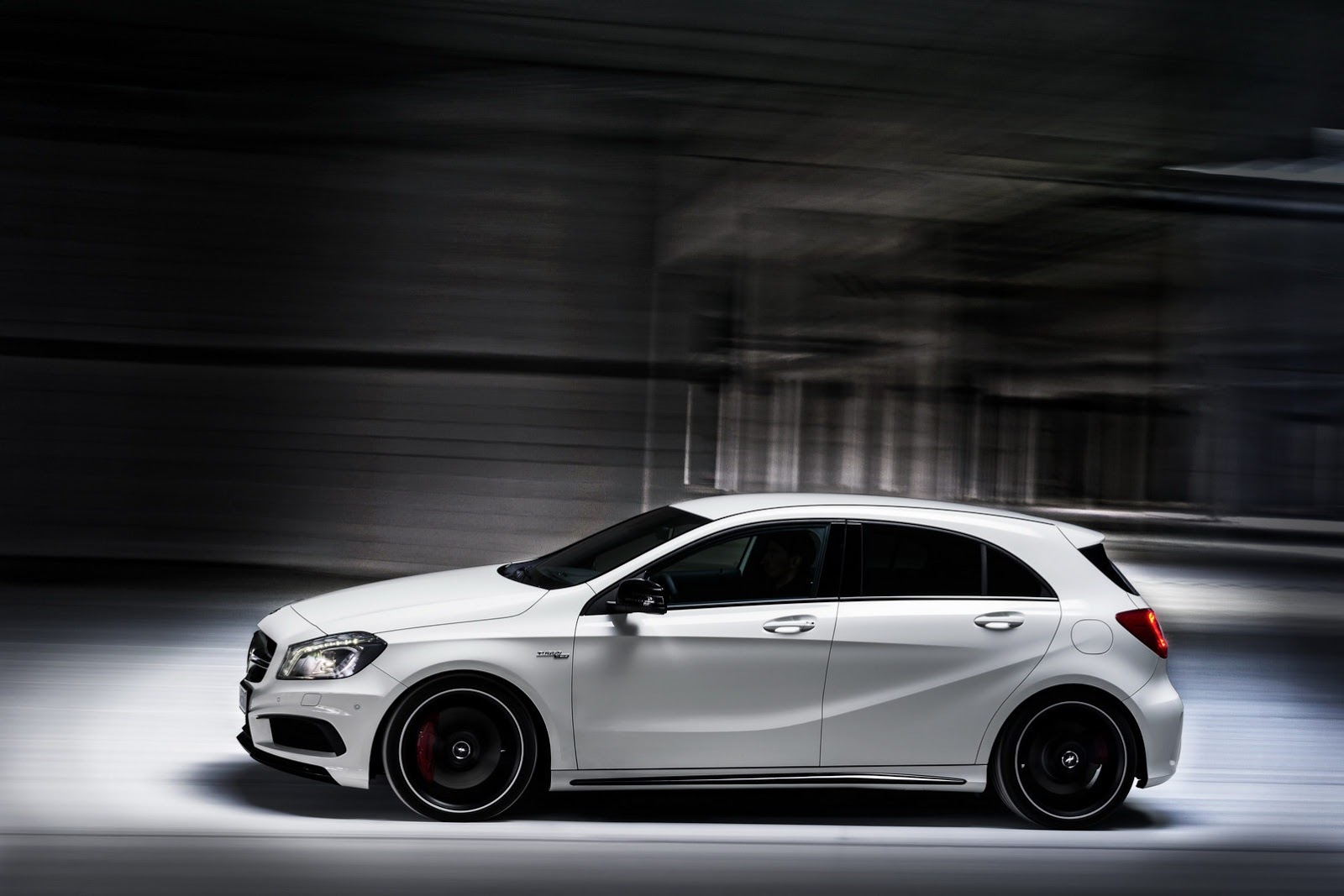 Mercedes A45 AMG - Side Profile