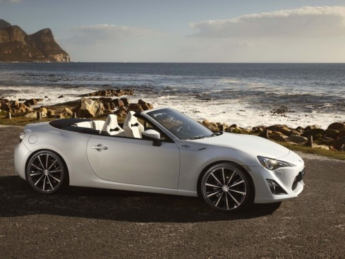 Toyota GT-86 Open Concept Car