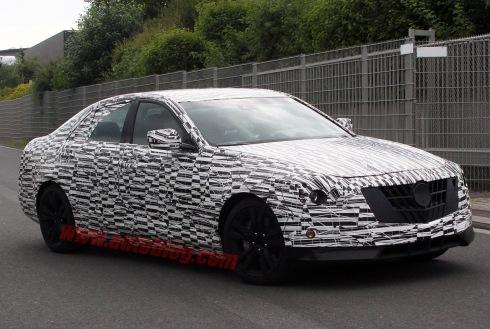 2014 Cadillac CTS - Front 3/4 Spy Shot