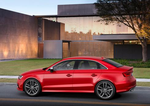 2014 Audi S3 Sedan - Side Profile