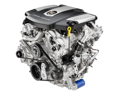2014 Cadillac Twin Turbo 420hp LF3 Engine