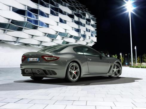 2014 Maserati GranTurismo MC Stradale - Rear 3/4