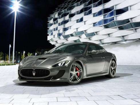 2014 Maserati GranTurismo MC Stradale - Front 3/4