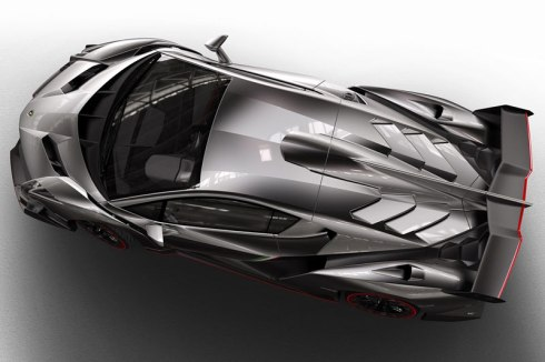 Lamborghini Veneno - Undressed from the top down