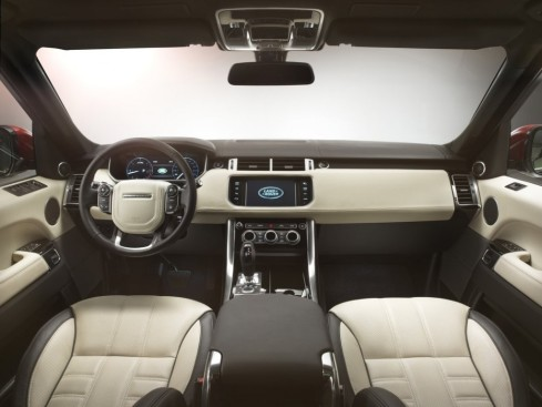 2014 Land Rover, Range Rover Sport - Front interior