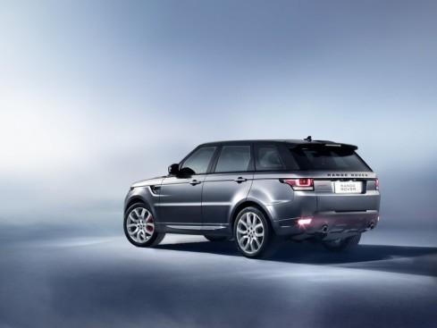 2014 Land Rover, Range Rover Sport - Rear 3/4