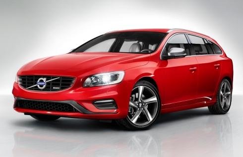 2014 Volvo V60 R-Designs - Front 3/4
