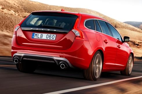 2014 Volvo V60 R-Designs -  Rear 3/4
