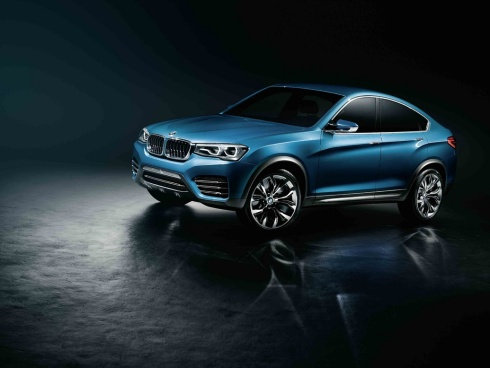 2015 BMW X4 Concept SUV - Front 3/4