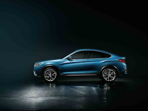 2015 BMW X4 Concept SUV - Side Profile