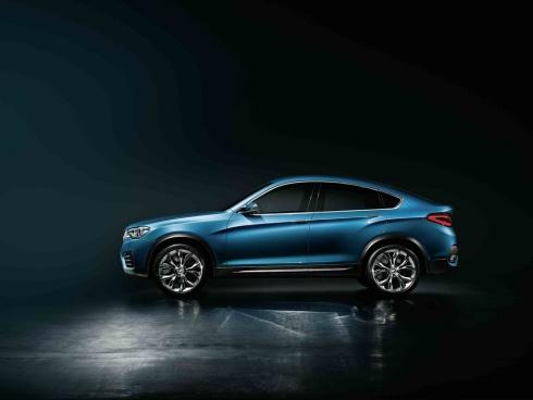 2015 BMW X4 Concept SUV - Side Profile