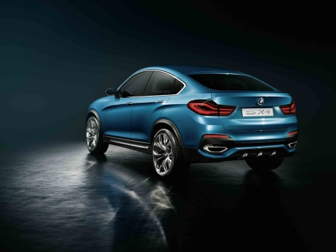 2015 BMW X4 Concept SUV - Rear 3/4