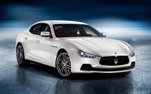 2014 Maserati Ghibli - Front 3/4
