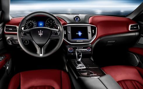 2014 Maserati Ghibli - Centre Console