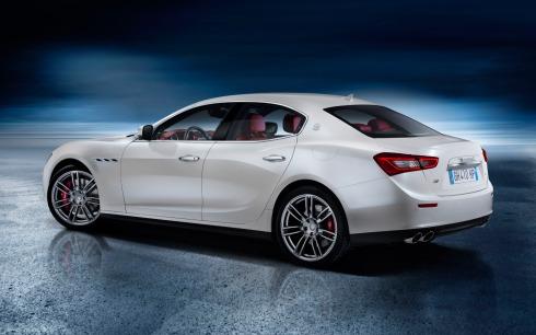 2014 Maserati Ghibli - Rear 3/4