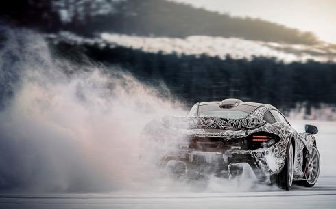 McLaren P1 - Winter Testing