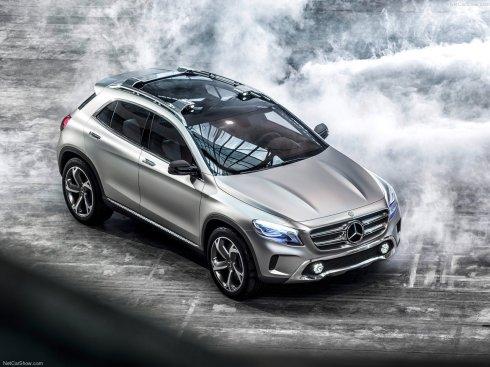 Mercedes-Benz GLA Concept SUV - Front 3/4