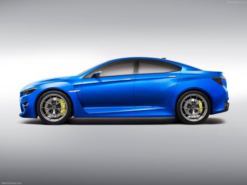 Subaru WRX Concept Car - Side profile