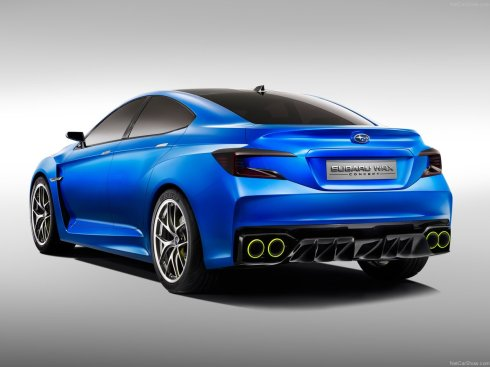 Subaru WRX Concept Car - Rear 3/4