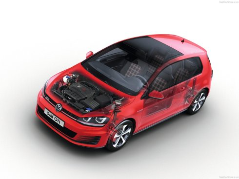 2014 Volkswagen GTI - Cool Nerd Transparent Drawings