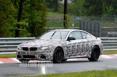 2014 BMW M4 Spy Shot - Front 3/4