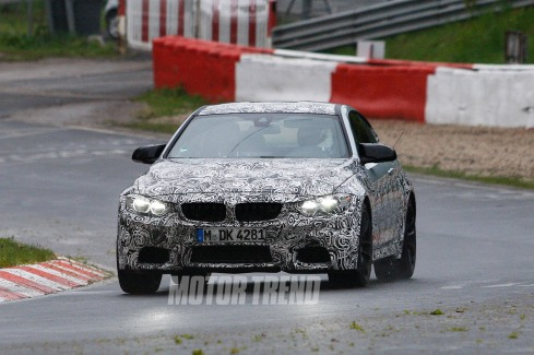 2014 BMW M4 Spy Shot - HeadOn