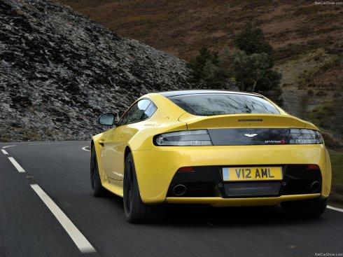 2014 Aston Martin V12 Vantage S - Rear 3/4