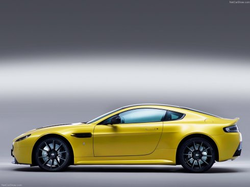 2014 Aston Martin V12 Vantage S - Side Profile